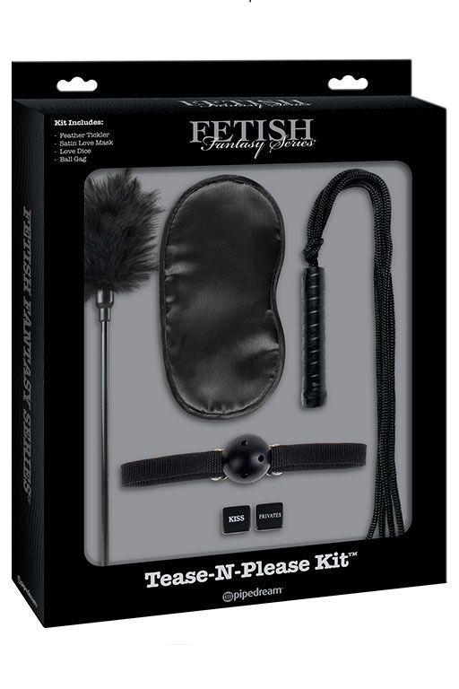 Эротические наборы: Набор для интимных удовольствий Tease-N-Please Kit
