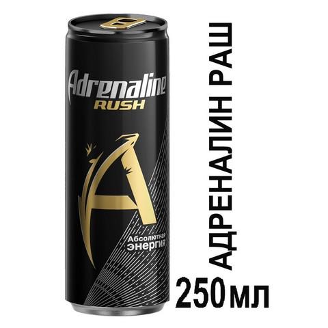 Энергетический напиток Adrenalin Rush 0,25л