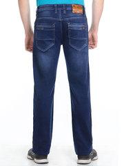 M51-H1133L джинсы мужские утепленные, синие