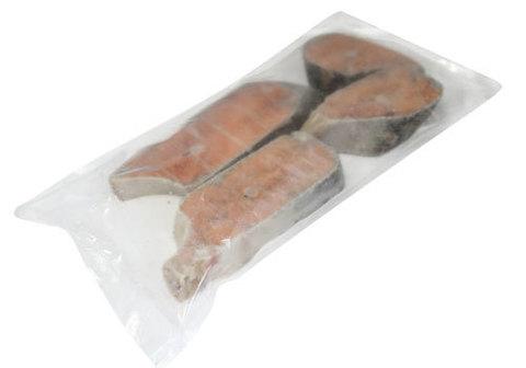 Кижуч стейк замороженный~900г