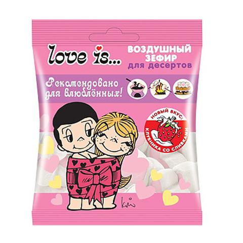 LOVE IS воздушный зефир для десертов 1*20, 125 г.
