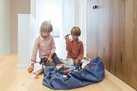 Мешок для игрушек Play&Go Classic ДЖИНСЫ