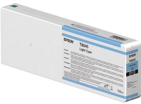 Картридж T804500 для Epson SC-P6000/7000/8000/9000 XXL Light Cyan UltraChrome HDX/HD, 700ml (C13T804500)