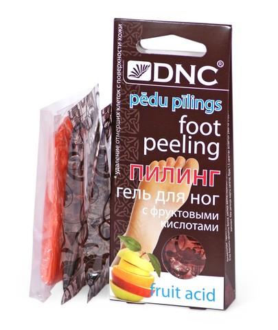 DNC Гель для ног с фруктовыми кислотами (пилинг) 40 мл