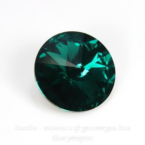 1122 Rivoli Ювелирные стразы Сваровски Emerald  (SS39) 8,16-8,41 мм