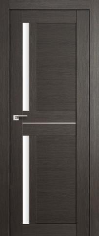 Дверь Profil Doors №19Х, стекло матовое, цвет грей мелинга, остекленная