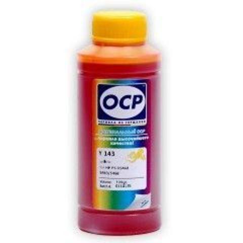 Чернила OCP Y143 Yellow для картриджей HP 178, 100 мл