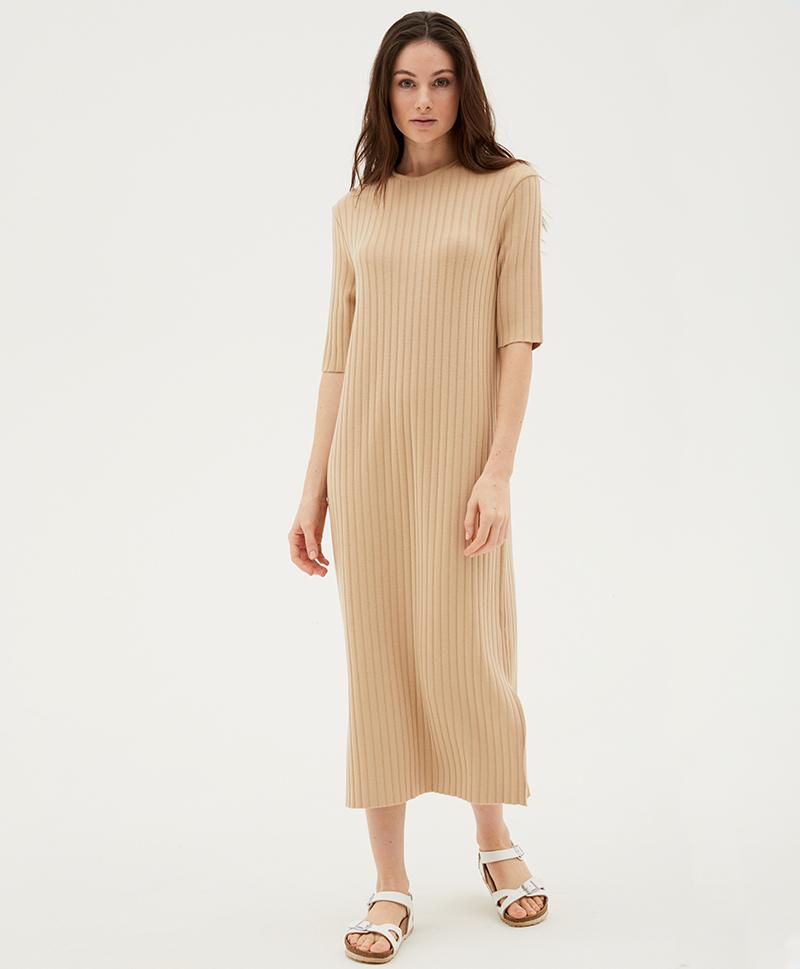 Платье Кимче бежевое