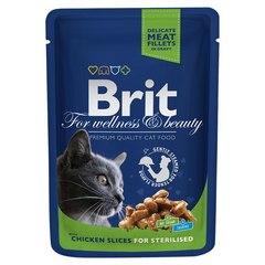 Brit Premium Пауч д/стерилизованных кошек Chicken 100гр