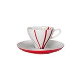 Чашка для кофе 200 мл с блюдцем FALL, артикул 047004900018, производитель - Spal