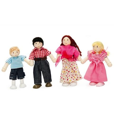 Набор кукол Моя семья,  LeToyVan