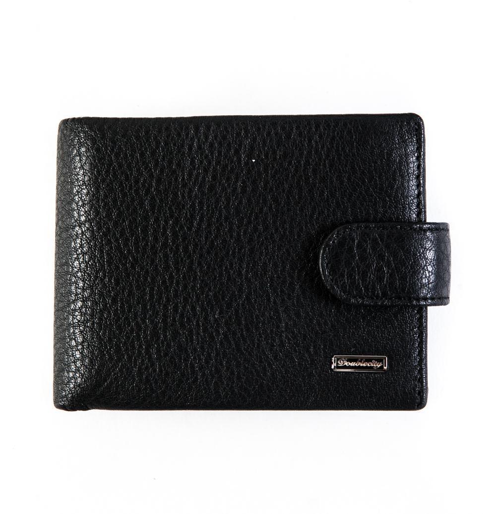 Компактное портмоне из натуральной кожи с RFID-защитой от считывания Dublecity 120-DC31-04A