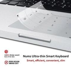 Умная ультратонкая клавиатура для ноутбука Xiaomi Air 13.3 Luckey Nums Ultra-thin Smart Keyboard