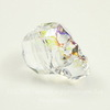 "5750 Бусина ""Череп"" Сваровски Crystal White Patina 13 мм"