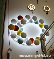 Светодиодная люстра 15-06 ( by Elite LED light )