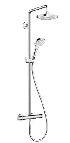 Душевой комплект Hansgrohe 27256400 Croma Select E 180 2jet Showerpipe