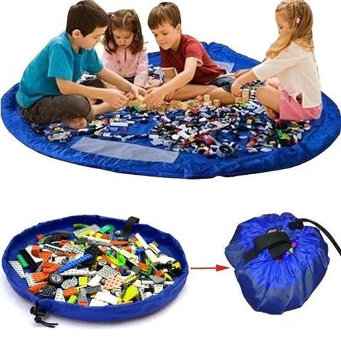 Большая сумка-коврик для игрушек, 1.5 метра