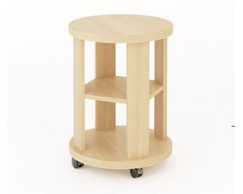 Столик кофейный ОЛЬБИЯ дуб беленый