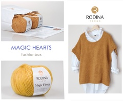 MAGIC HEARTS Fashionbox by Rodina Yarns