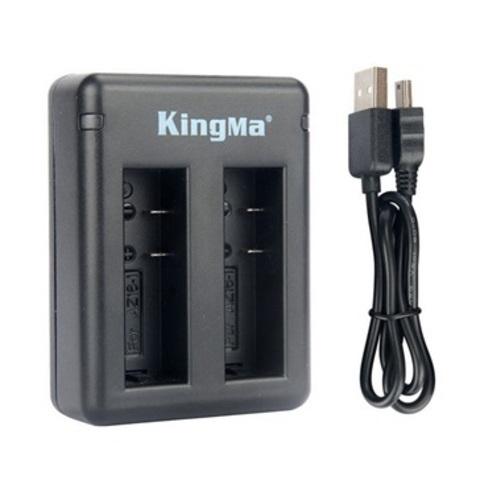 Зарядное устройство Kingma (USB) для 2-х аккумуляторов Xiaomi Yi 4K