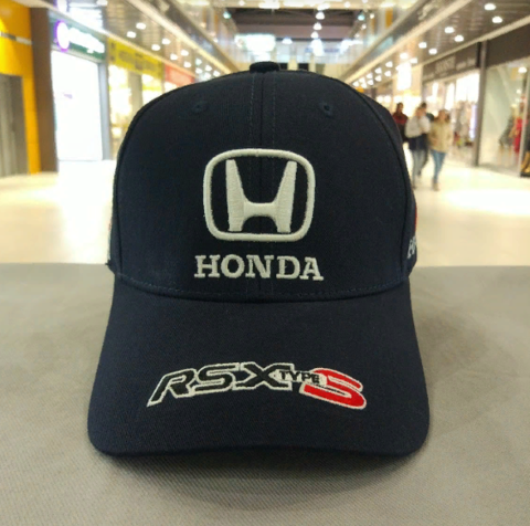 Кепка Хонда темно-синяя (Бейсболка Honda)