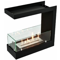 Торцевой биокамин Lux Fire 490 S
