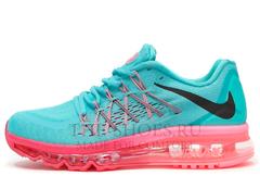 Кроссовки Женские Nike Air Max 2015 Blue Pink Black