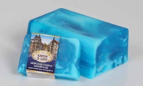 Косметическое мыло Морские соли и минералы 100 гр. ТМ SAVON D LION