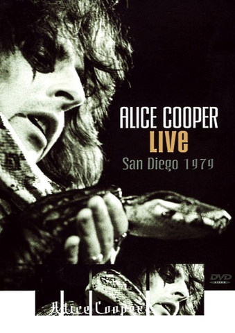Alice Cooper / Live In San Diego 1979 (DVD)