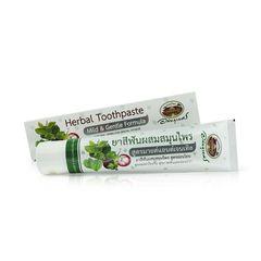 Лечебная зубная паста от пародонтоза, стоматита на основе экстрактов Мангостина, Гуавы,Бетеля и др.растений, Abhaibhubejhr (Апхай)