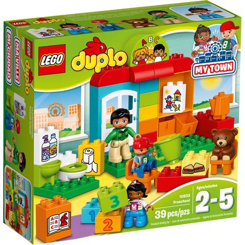LEGO Duplo: Детский сад 10833 — Nursery School — Лего Дупло