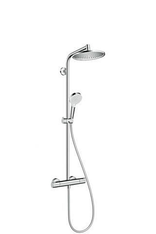 Душевая система Hansgrohe 27267000 Crometta S 240 1jet Showerpipe