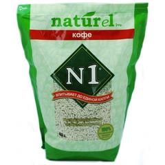 N1 Naturel Кофе комкующийся наполнитель