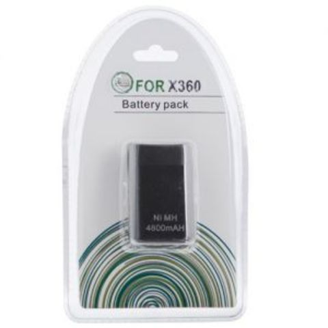 Microsoft Xbox 360 Slim Battery pack 4800mAH Black