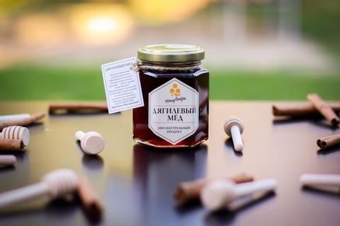 Мед натуральный дягилевый, 250 грамм