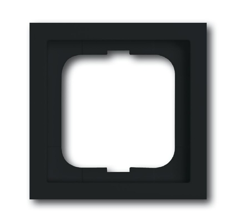 Рамка на 1 пост. Цвет Антрацит. ABB(АББ). Future Linear(Фьючер Линеар). 1754-0-4240