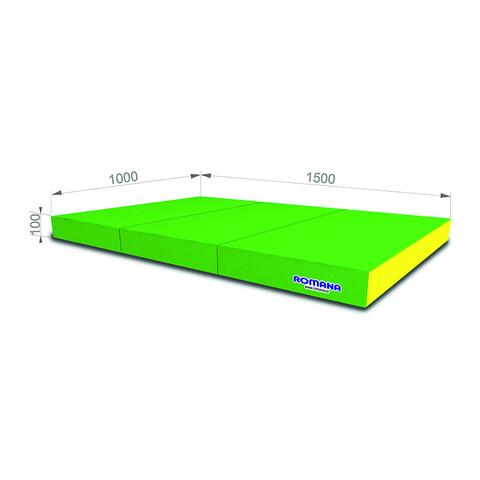 """Мягкий щит """"ROMANA/Pro"""" (1000x1500x100 мм), в 3 сложения"""