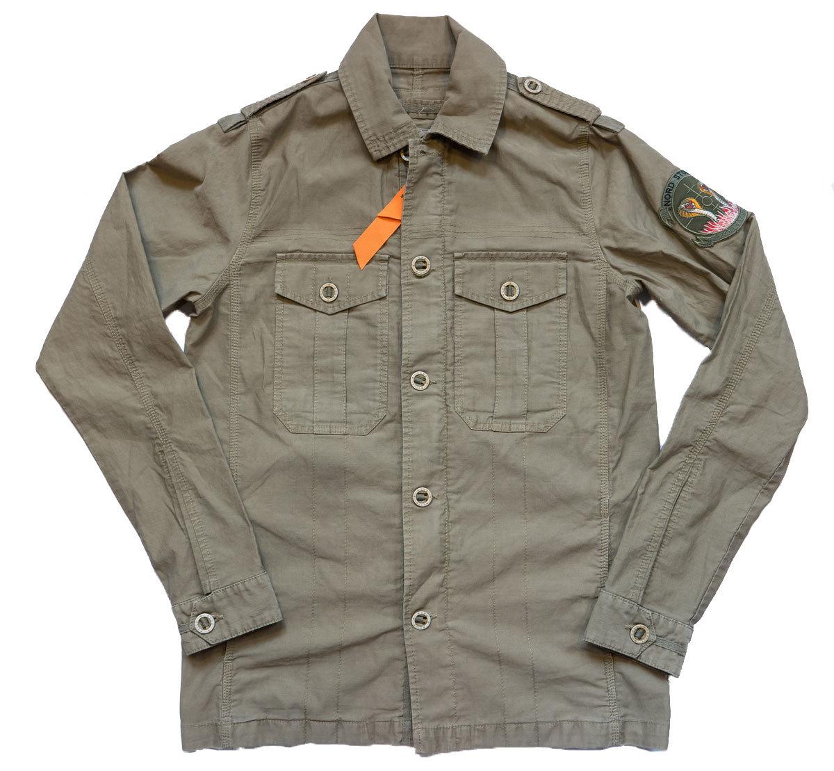 Куртка ветровка полевая Nord Storm - Cobra Jacket (хаки)