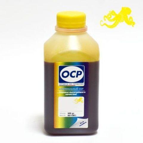Чернила OCP Y752 Yellow для картриджей HP 28/57, 500 мл