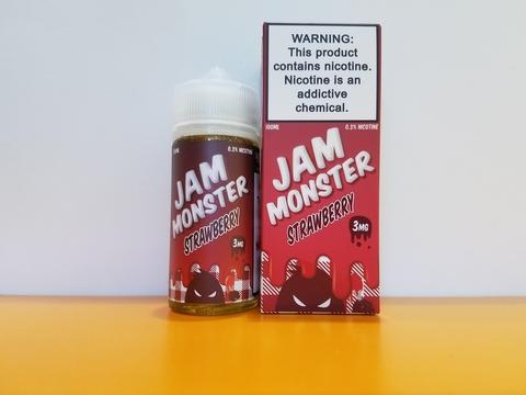 Strawberry by JAM MONSTER 100ml