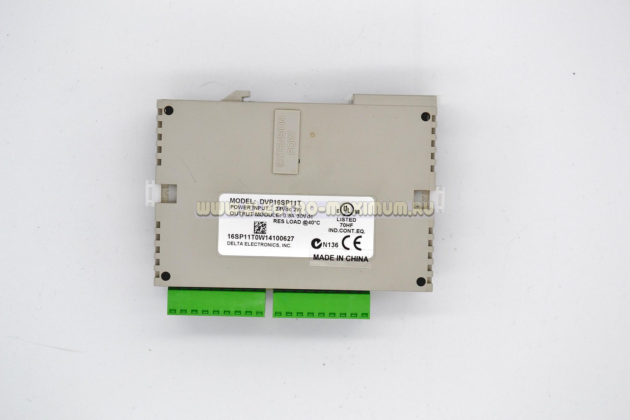 Модуль дискретного ввода-вывода DVP16SP11T