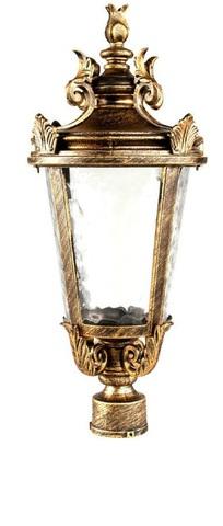 Светильник садово-парковый, 60W 230V E27 черное золото, IP44, PL4003 (Feron)