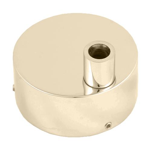 Коробка для скрытого подключения электрического полотенцесушителя цвета бронза.