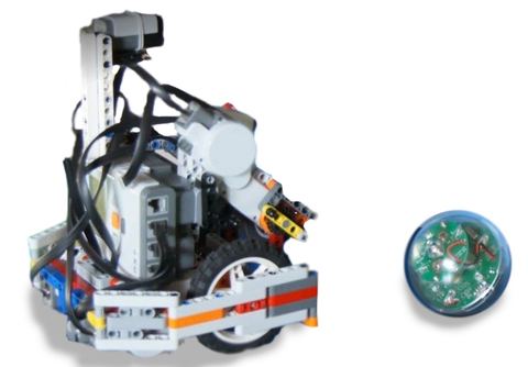 LEGO Education Mindstorms: Набор Футбол WRO к микрокомпьютеру NXT WFB1015