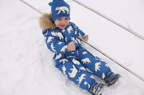 Зимний комбинезон Ticket to Heaven Snow Baggie унисекс Мишки