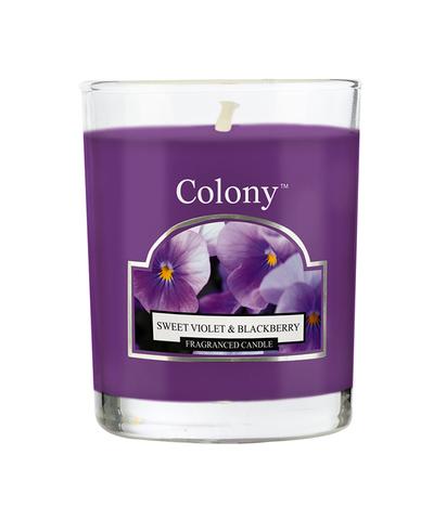 Свеча ароматическая лампадная Сладкая фиалка, Wax Lyrical