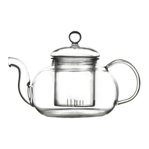 Стеклянный чайник Тюльпан с колбой