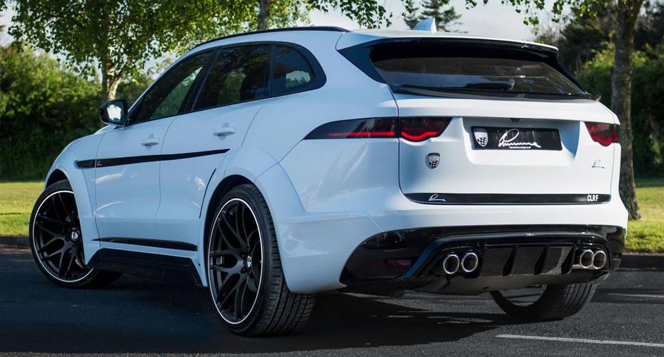 Обвес Lumma для Jaguar F-Pace