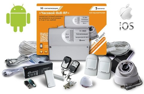 3G ММS сигнализация с камерой