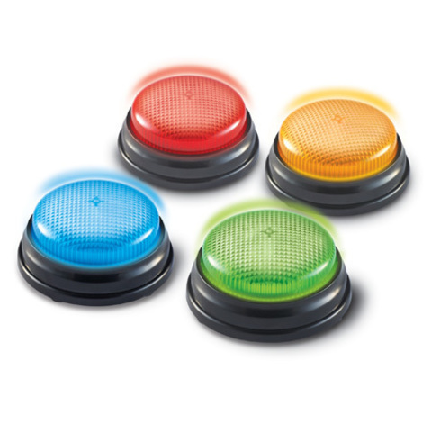 Гигантские кнопки Свет и звук Learning Resources